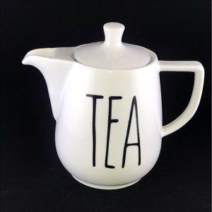 Other - Rae Dunn Inspired Teapot - White Ceramic Teapot